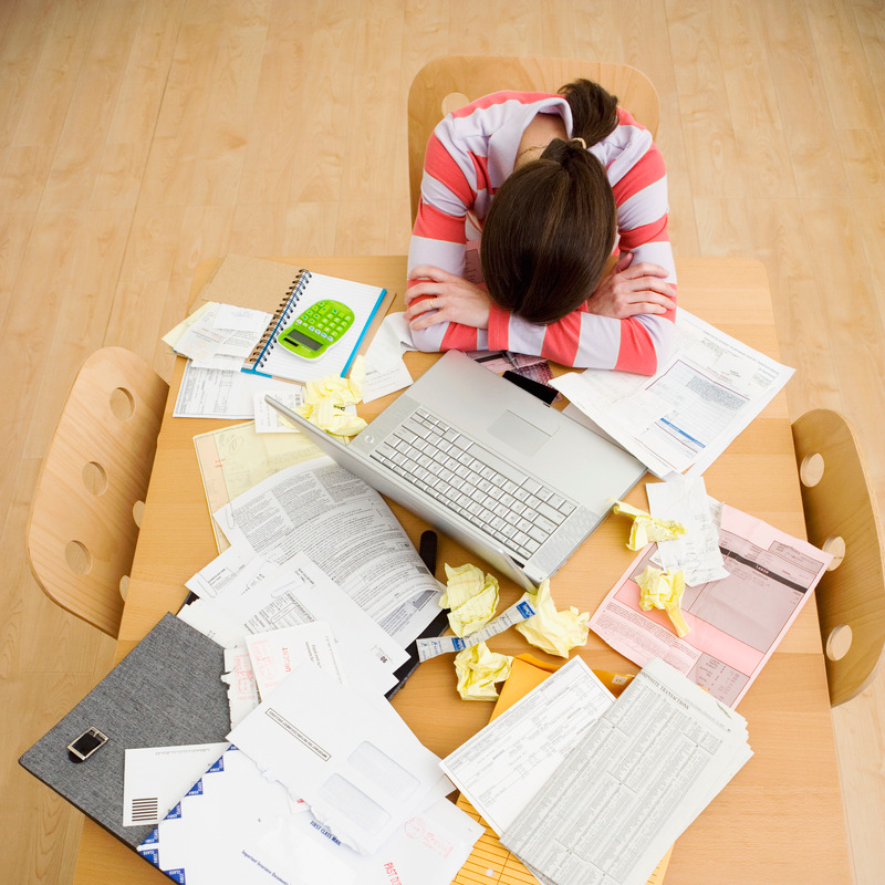Overwhelmed, procrastinating